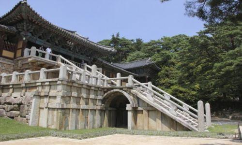 Zdjęcie KOREA POŁUDNIOWA / Gyeongju / Bulguksa Temple / swiatynia