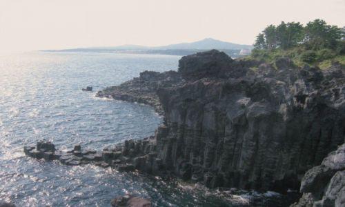 Zdjęcie KOREA POŁUDNIOWA / Wyspa Czedzu / Pd wyspy / Sześcienne skały magmowe
