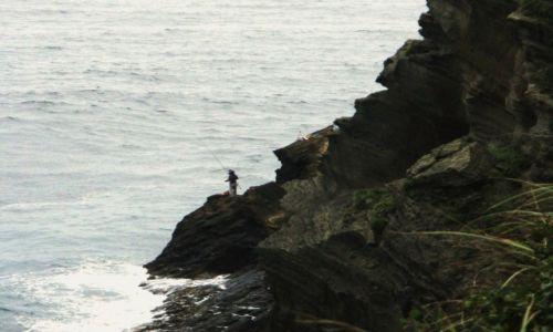 Zdjęcie KOREA POŁUDNIOWA / Wyspa Czedzu / Pd wyspy / Skały magmowe
