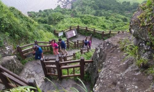 Zdjęcie KOREA POŁUDNIOWA / Jeju / Jeju / Wulkan