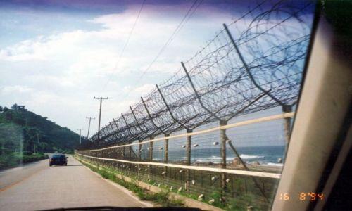 Zdjecie KOREA POŁUDNIOWA / brak / Przy granicy z Koreą Północną / W pobliżu sąsiadów Korei PŁN