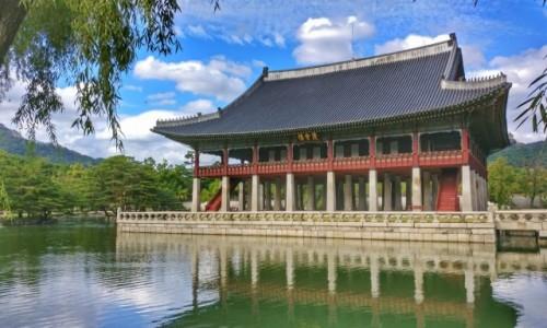 KOREA POŁUDNIOWA / Seul / Gyeonghoeru Pavilion / Pavilion..