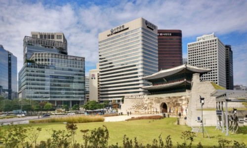 KOREA POŁUDNIOWA / Seul / Sungnyemun / Sungnyemun Gate