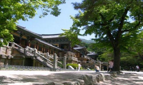 Zdjecie KOREA POŁUDNIOWA / Gyeongju / Gyeongju / Swiatynie w Korei Poludniowej