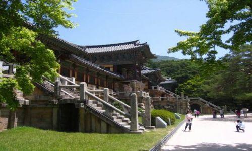 Zdjecie KOREA POŁUDNIOWA / Gyeongju / Gyeongju / Swiatynie w Kor