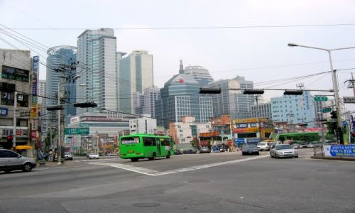 Zdjęcie KOREA POŁUDNIOWA / Seul / dzielnica SZILIM / zbytek19