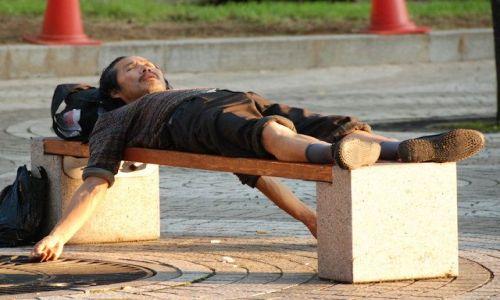 Zdjęcie KOREA POŁUDNIOWA / Seul / Seul / Poranna medytacja