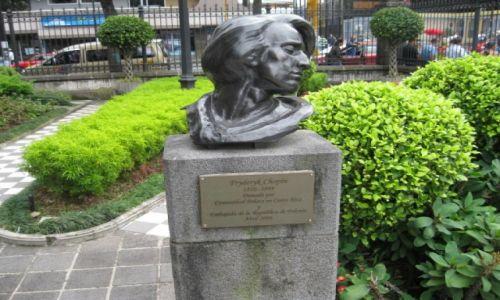 Zdjęcie KOSTARYKA / - / San Jose  stolica Kostaryki / Pomnik Szopena w San Jose  Kostaryka