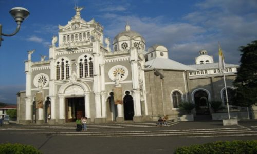 Zdjecie KOSTARYKA / - / Cartago  -  Kostaryka / Bazylika w Cartago pierwszej stolicy Kostaryki