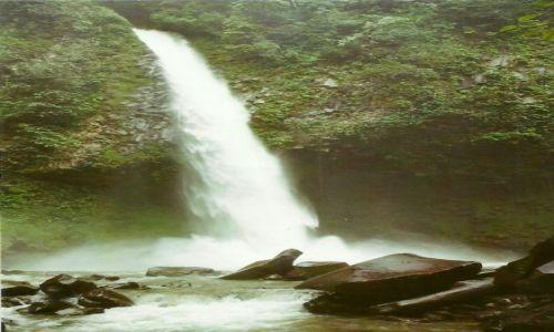 Zdjęcie KOSTARYKA / Płn. Kostaryka / Arenal / Wodospad na rzece Arenal I