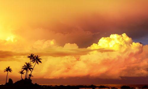 Zdjecie KOSTARYKA / Osa Peninsula / Corcovado  / Wschód słońca nad oceanem