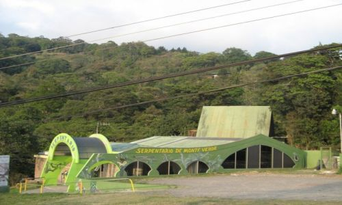 KOSTARYKA / Kostaryka / Santa Elena / Serpentarium w Santa Elena