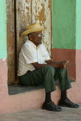 Zdjęcia: Trynidad, Staruszek, KUBA