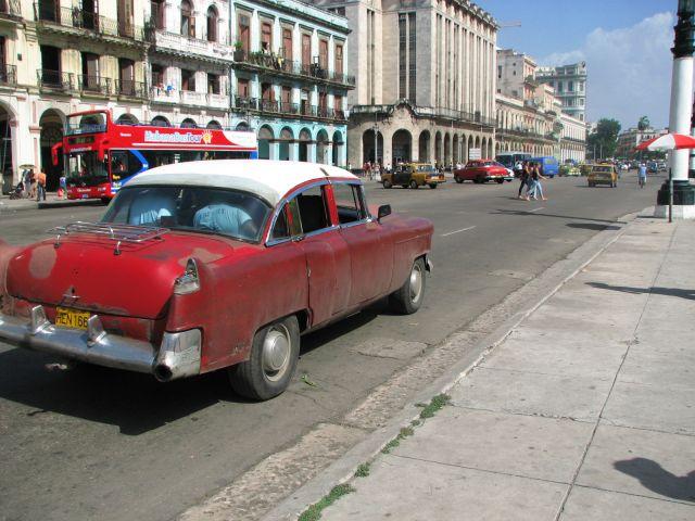 Zdj�cia: Kuba, Hawana, ulice Hawany, KUBA