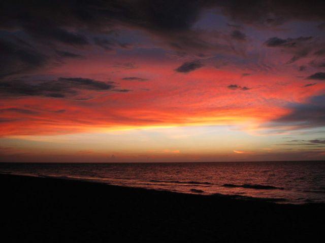 Zdjęcia: Kuba, Hawana, wieczór nad wybrzeżem, KUBA