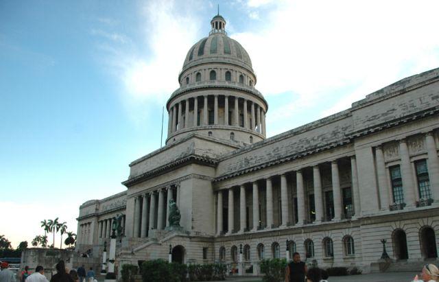 Zdjęcia: Havana, Pamiątka starej Kuby - Capitol , KUBA