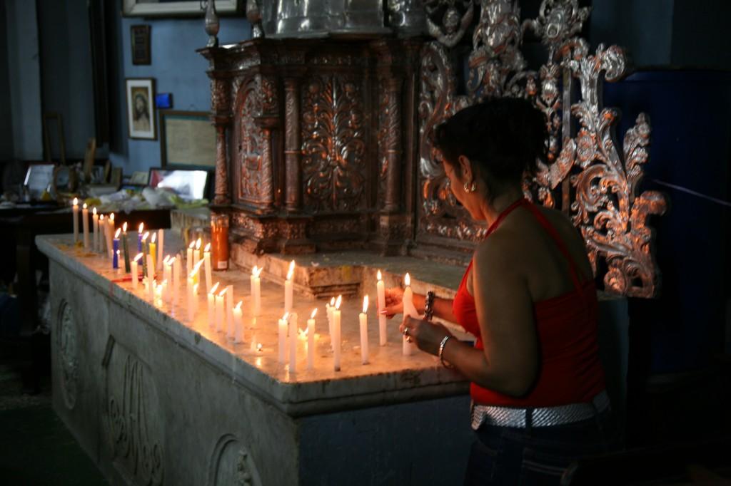 Zdjęcia: El Cobre sanktuarium, Santiago de Cuba, Matka Boska z El Cobre, KUBA