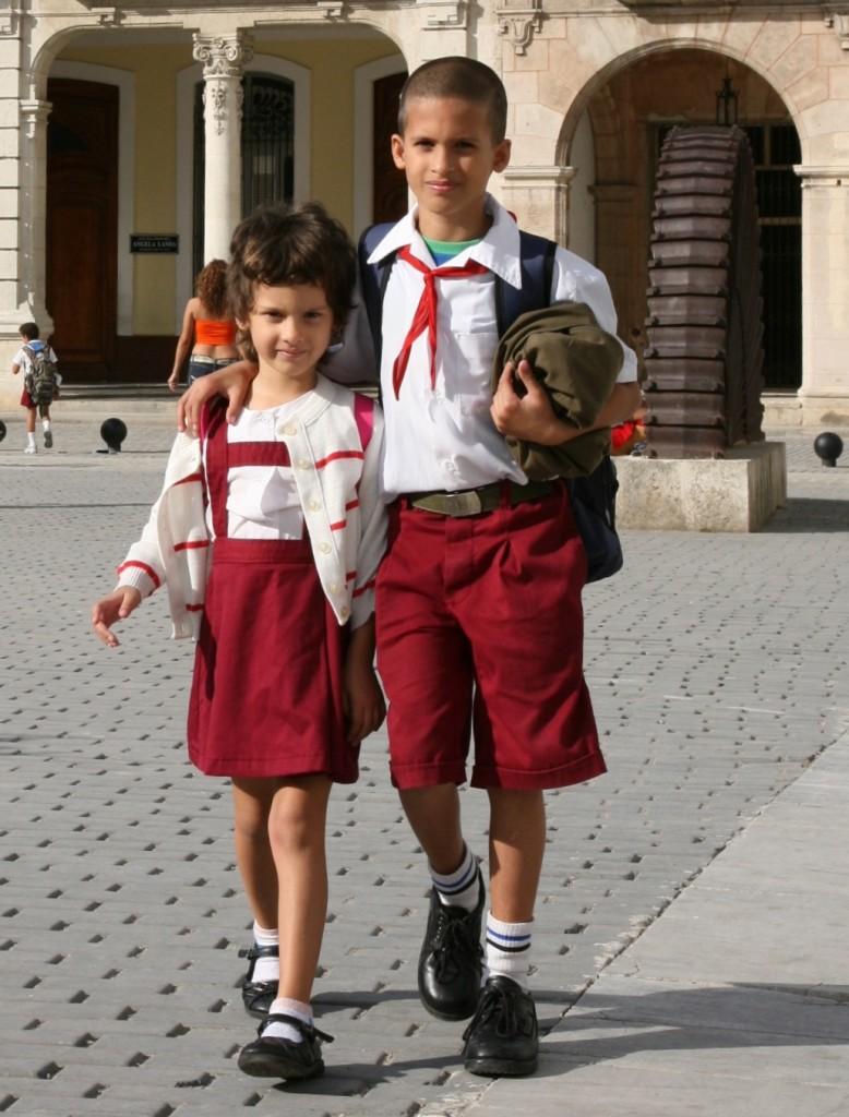 Zdjęcia: Śródmieście, Havana, Rodzeństwo, KUBA