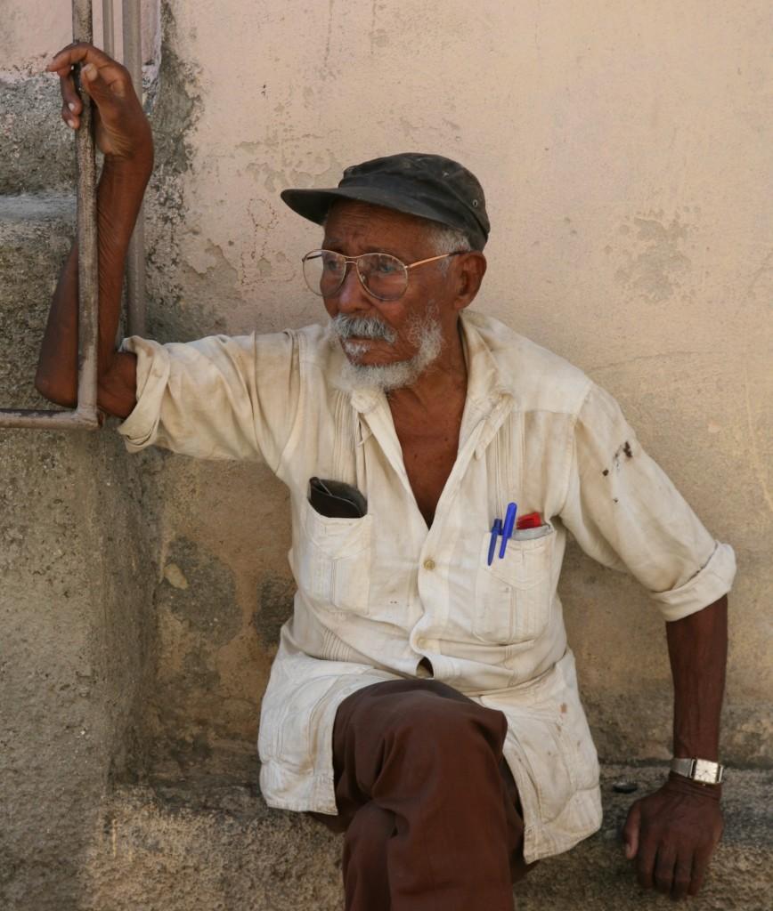 Zdjęcia: Park Cespedes, Santiago de Cuba, Czas refleksji, KUBA