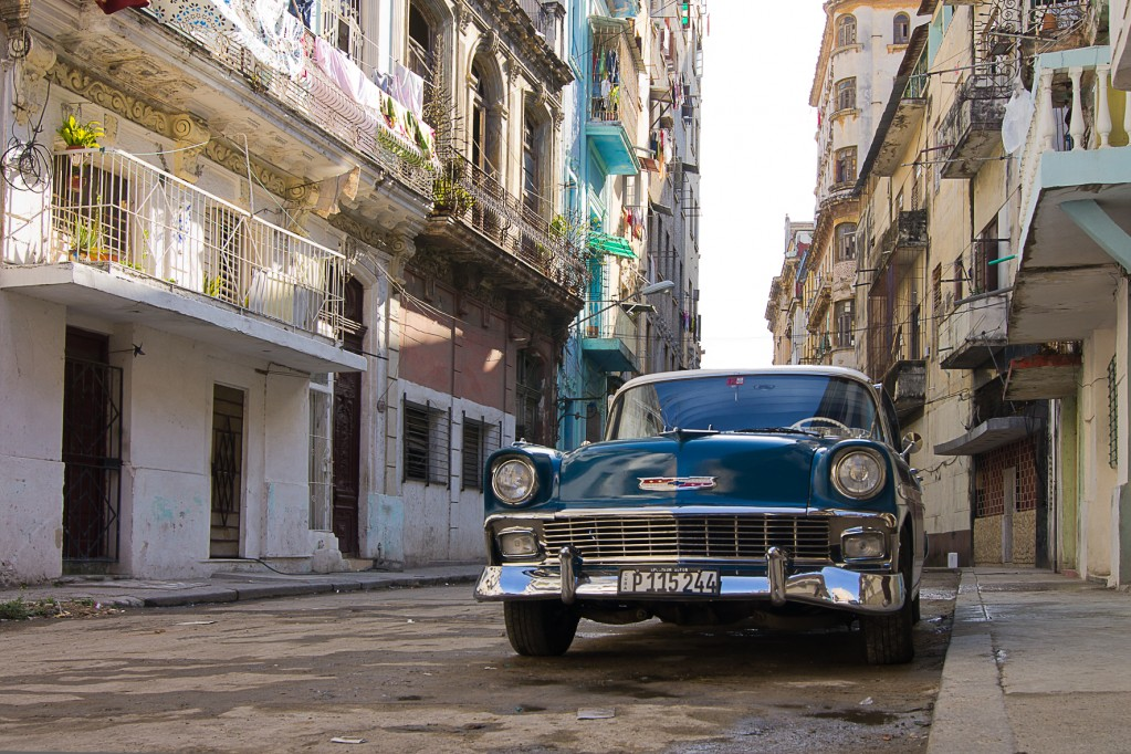 Zdjęcia: Havana, Havana, Uliczka w Centro, KUBA