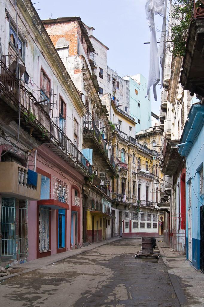 Zdjęcia: Havana, Havana, Uliczka w Centro 2, KUBA