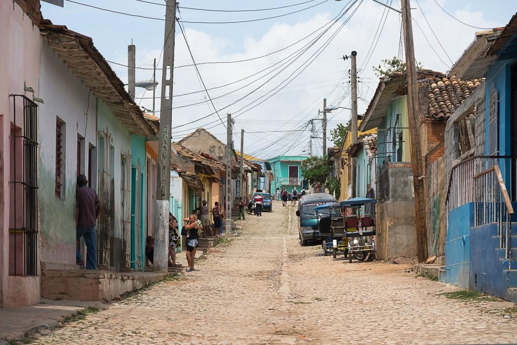 Zdjęcia: Trynidad, /, Gorzej wypasiona uliczka, KUBA