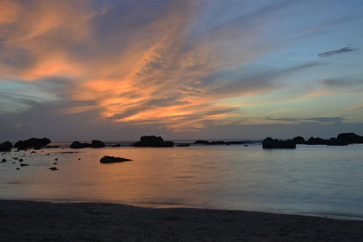 Zdjęcia: Trinidad, Trinidad,  Zachód Słońca Morze Karaibskie Kuba Trinidad, KUBA