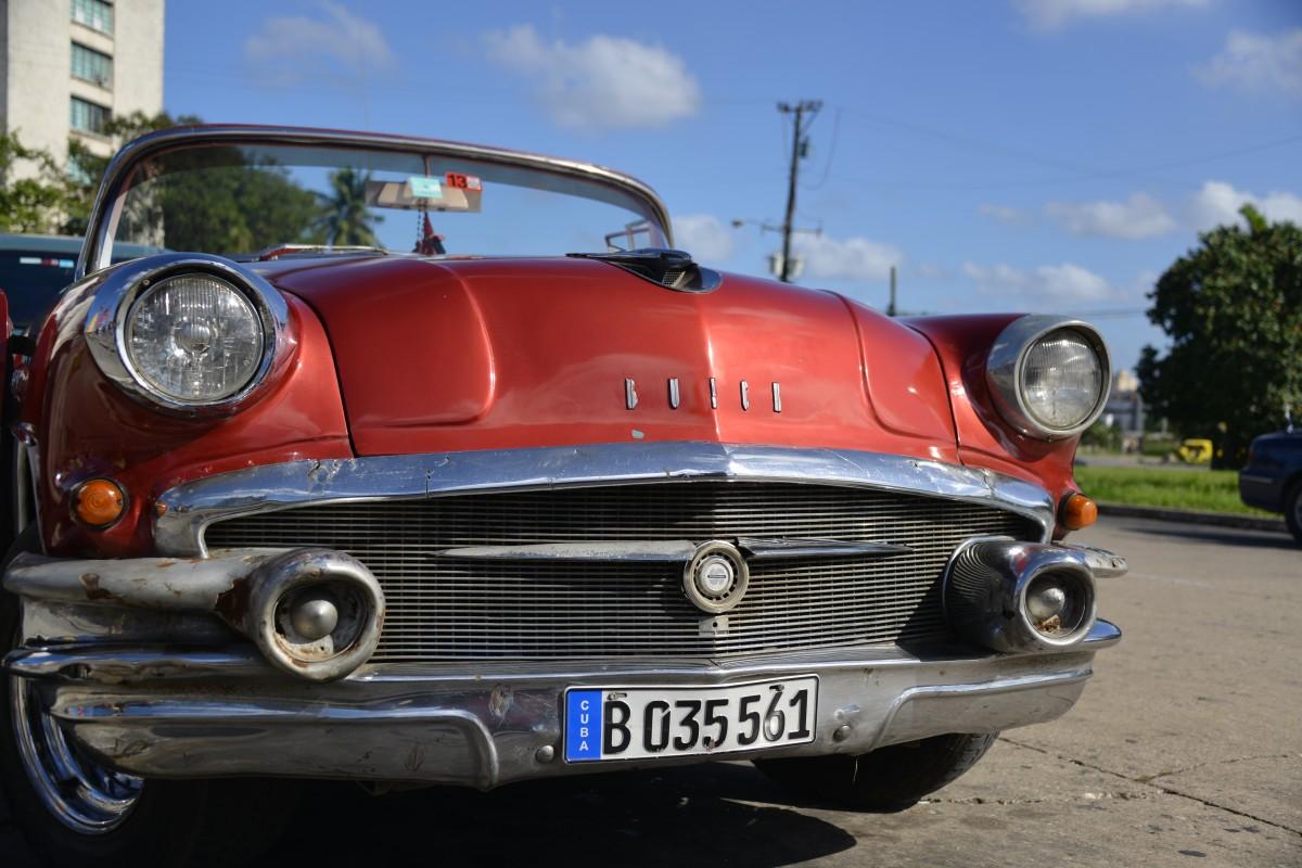 Zdjęcia: Hawana, xxx, Kubańskie auta, KUBA