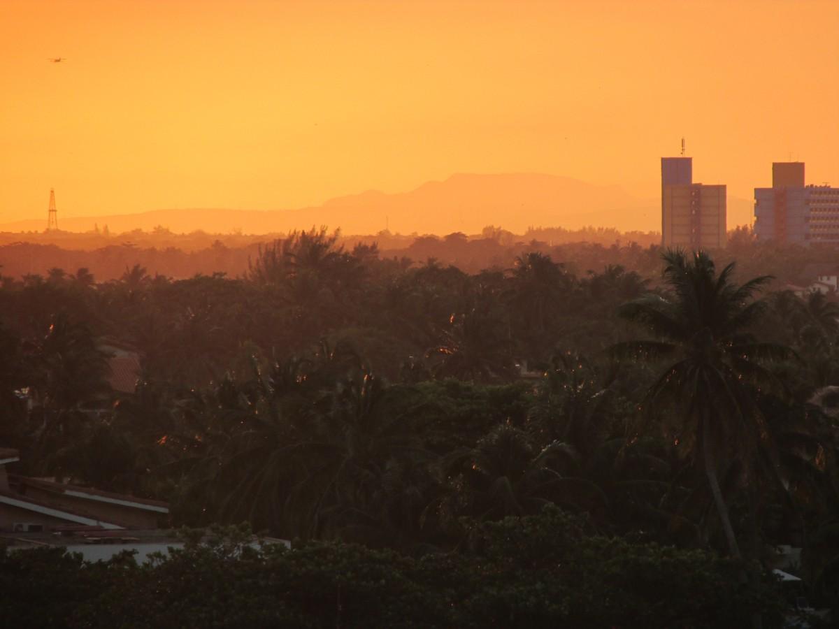 Zdjęcia: Waradero, widok z okna, widok z okna, KUBA