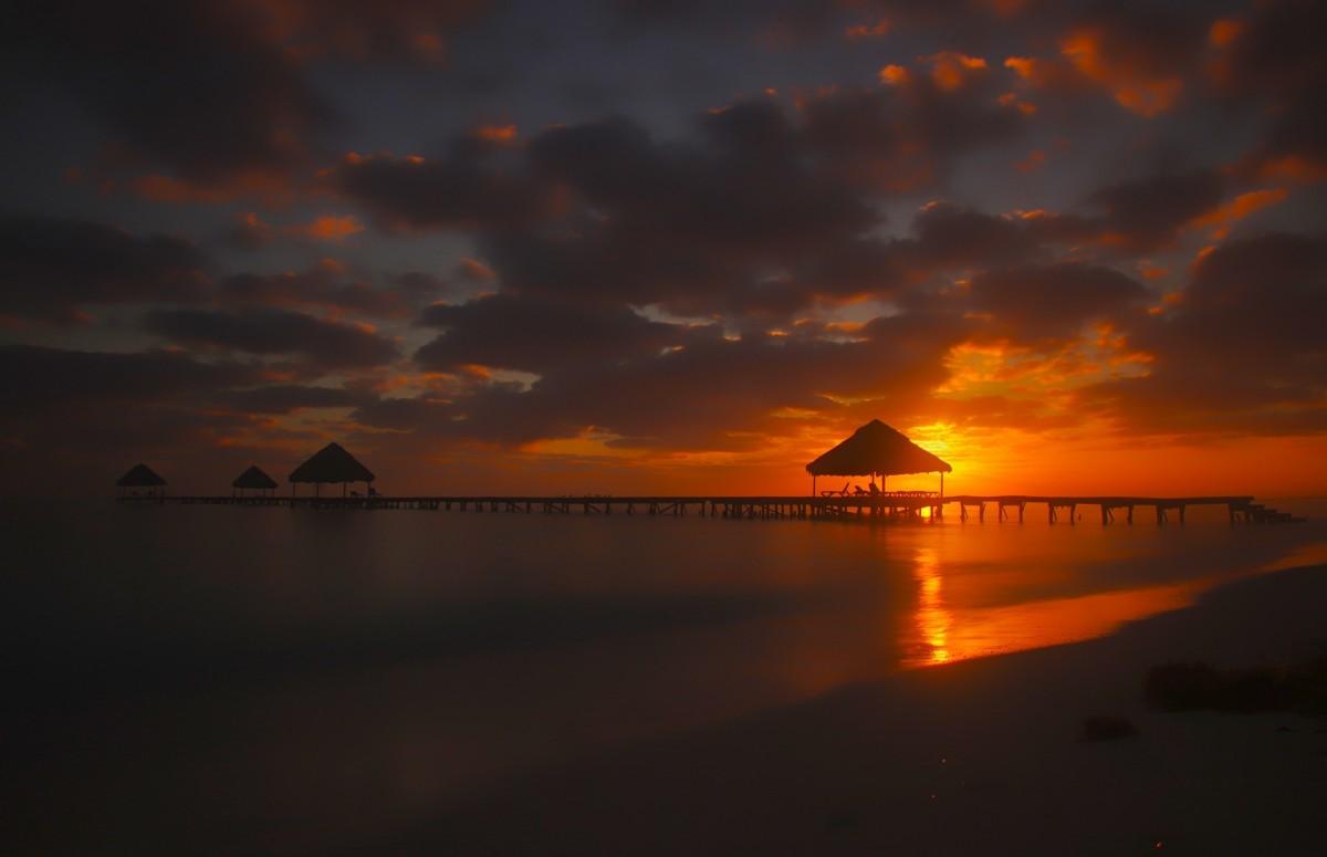 Zdjęcia: Cayo Guillermo, Cayo Guillermo, Wschód słońca, KUBA
