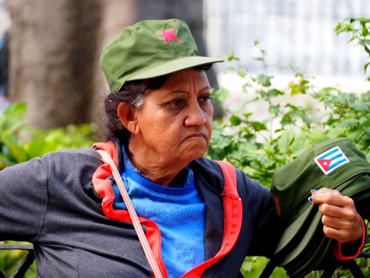 Zdjęcia: Hawana, płn. Kuba, Chętnych na czapki brak :(, KUBA