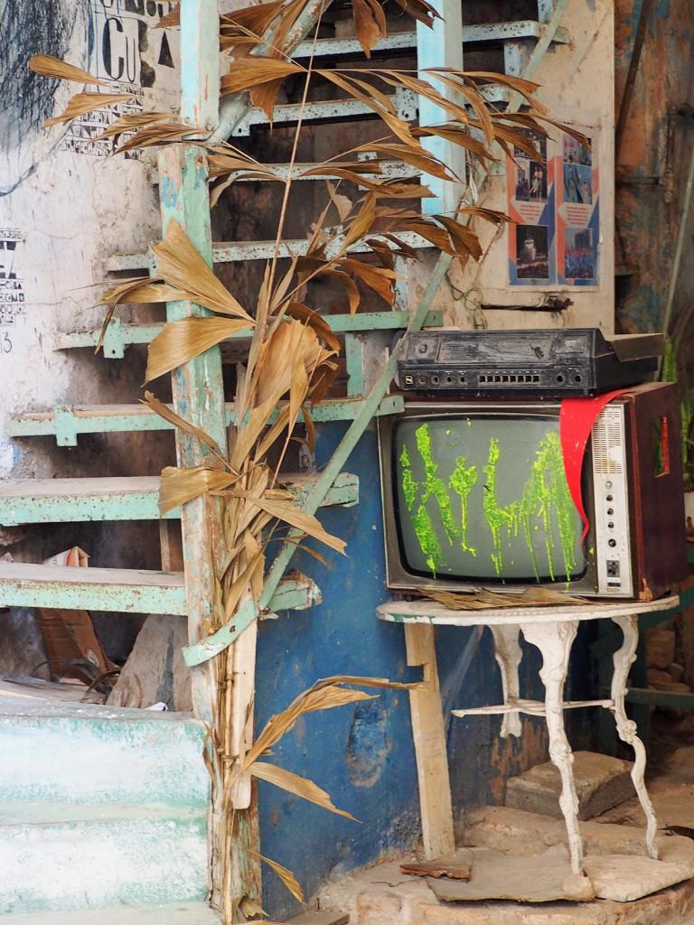 Zdjęcia: Hawana, płn. Kuba, W bramie, KUBA