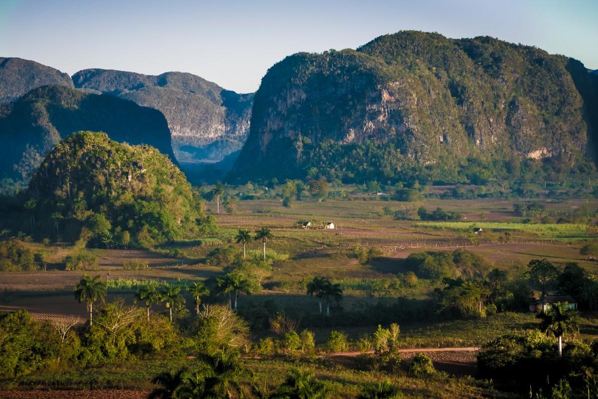 Zdjęcia: Dolina Vinales, Kuba zachodnia, Poranek w dolinie, KUBA