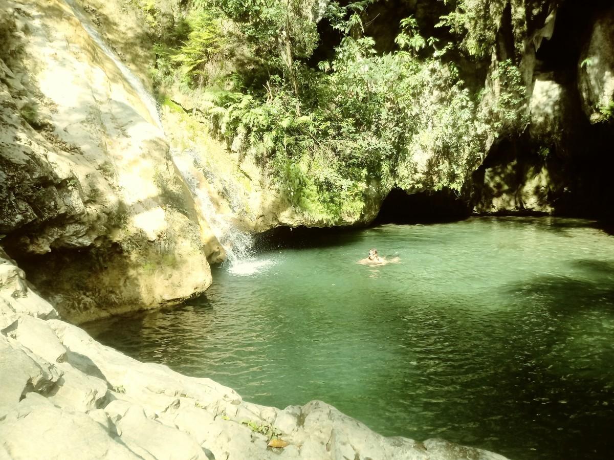 Zdjęcia: Trynidad - wodospad, ciekawe miejsca, KUBA