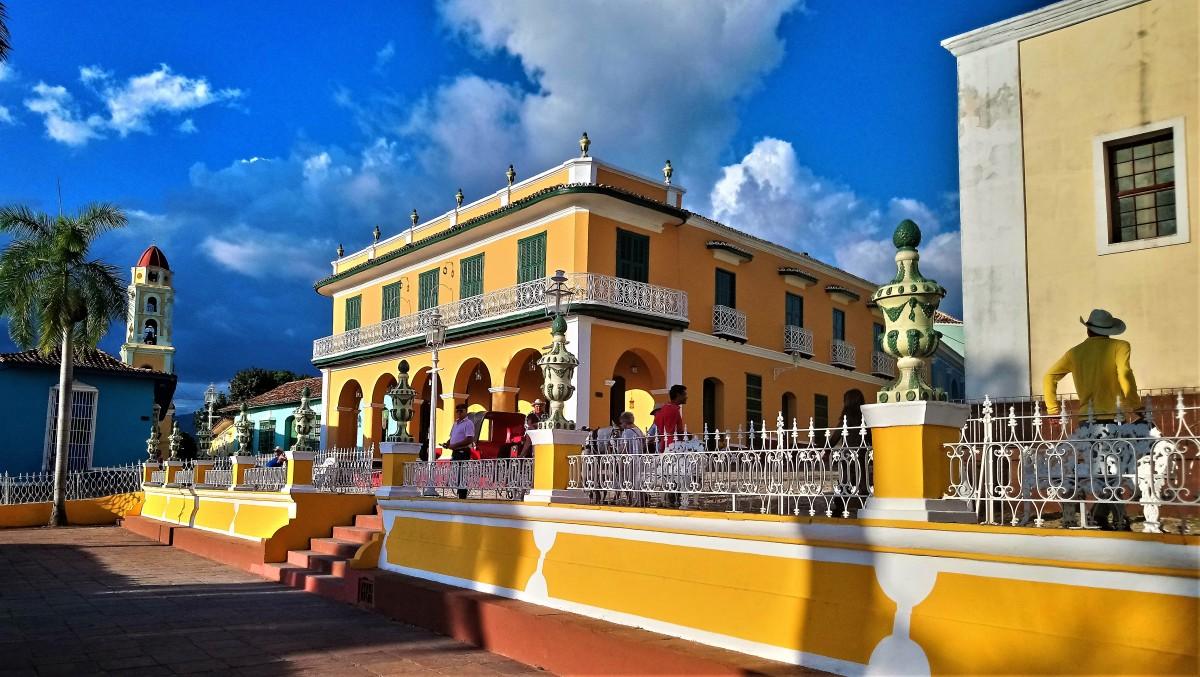 Zdjęcia: Trynidad, Sancti Spíritus, Plaza Mayor, KUBA