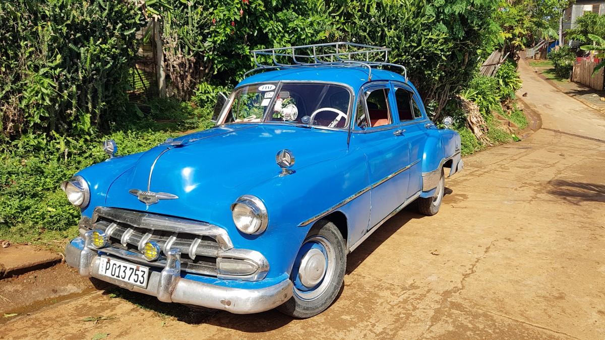 Zdjęcia: Baracoa, wschodni kraniec wyspy, Trzy kolory: niebieski ;-), KUBA