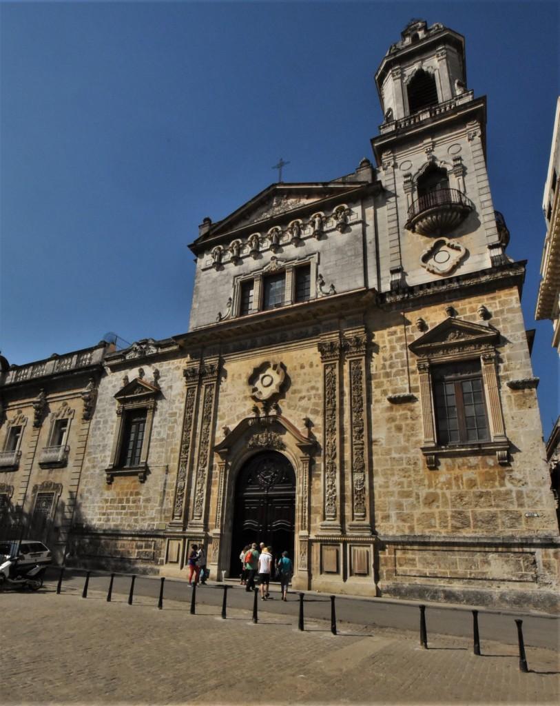 Zdjęcia: La Habana, Stolica, La Habana kościół franciszkański, KUBA