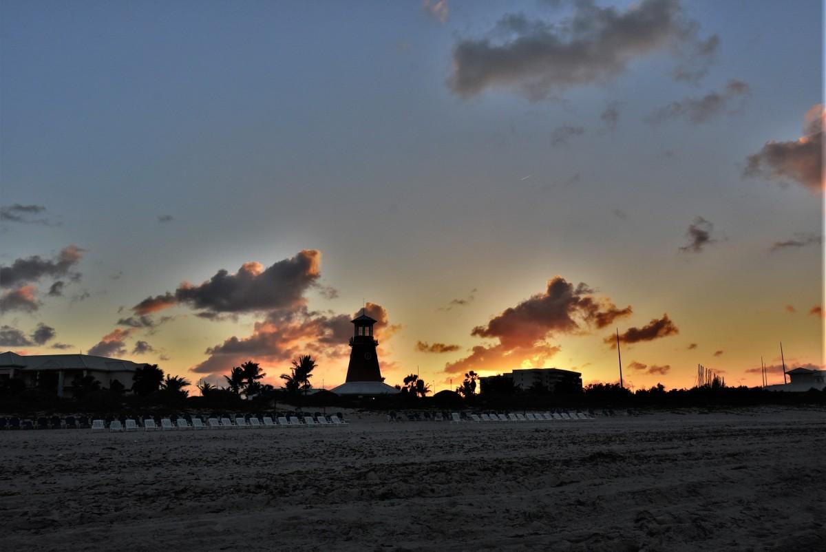 Zdjęcia: Fiesta Americana Punta Varadero, Półwysep Varadero, Półwysep Varadero, plaża, zachód słońca, KUBA