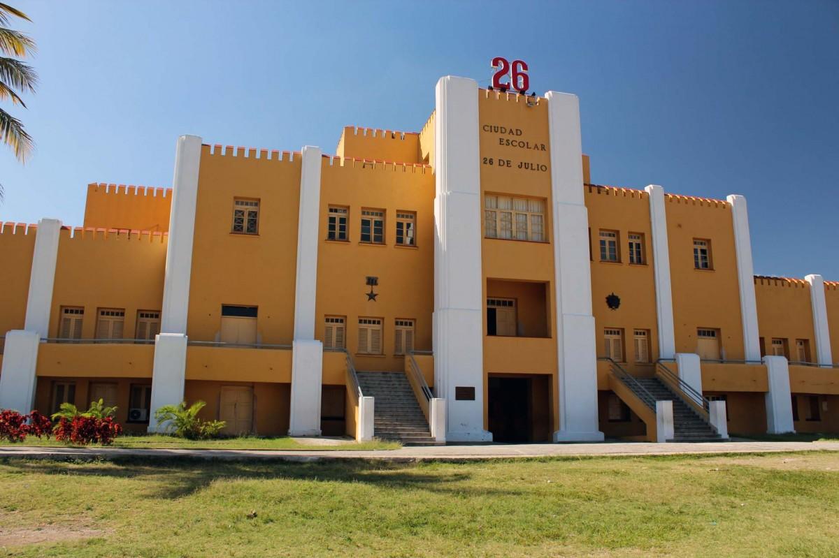 Zdjęcia: Koszary Moncada, Santiago de Cuba, Koszary Moncada, KUBA