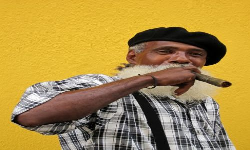 Zdjęcie KUBA / - / Hawana / Twarz Hawany