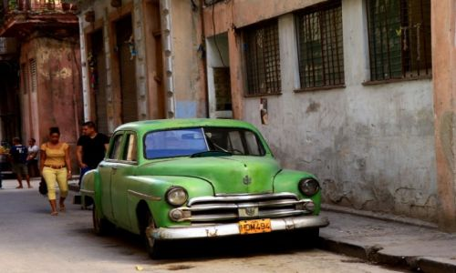 Zdjecie KUBA / Środkowa Kuba / Trynidad / Staruszek...