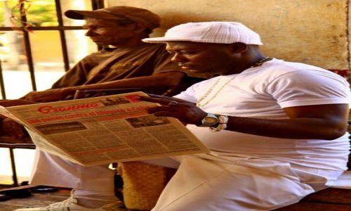 Zdjęcie KUBA / Camaguey / srodkowa Kuba / Dobre wieści...