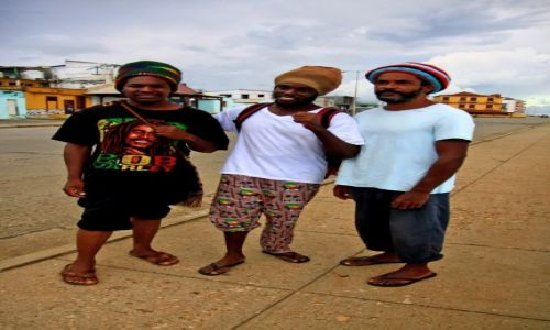 Zdjęcie KUBA / Baracoa / Baracoa / Trzej muszkieterowie