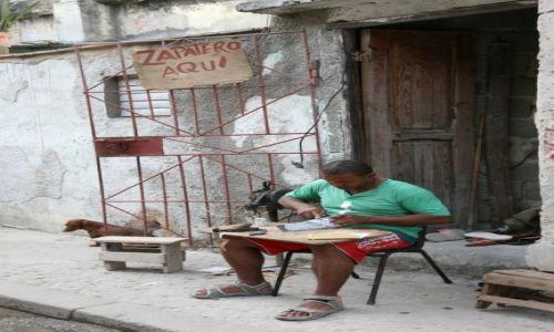 Zdjecie KUBA / La Habana / Hawana / Szewc