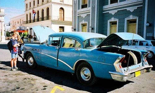 Zdjecie KUBA /  Cienfuegos /   / W końcu i tak ruszy