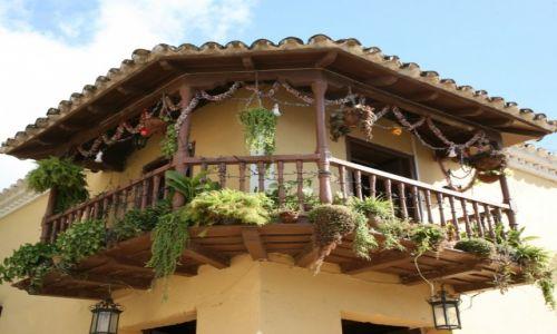 Zdjęcie KUBA / Sancti Spiritus / Trynidad de Cuba / Balkon