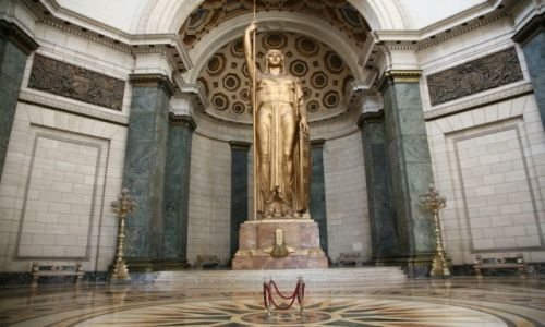 Zdjecie KUBA / Hawana / Kapitol / Posąg Republiki