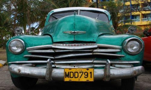 Zdjecie KUBA / Varadero / gdzieś na ulicy / Chevrolet