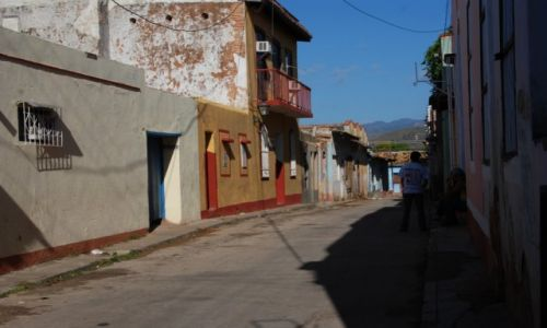 Zdjecie KUBA / środkowa Kuba / Trinidad / Uliczka