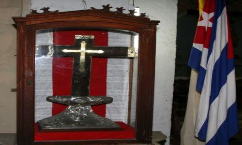 Zdjecie KUBA / Prowincja Guantánamo  / Baracoa, Katedra Nuestra Señora de la Asunción / Cruz de la Parra